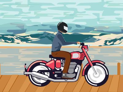 Biker in ladakh