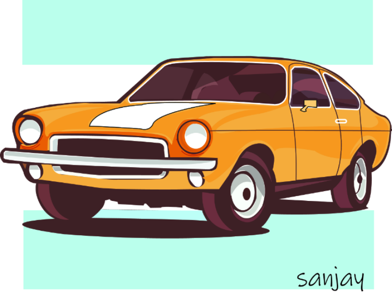 Car design art illustrator illustrations uxdesigner dribbble car