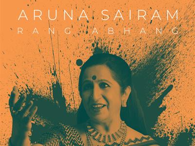 Aruna Sairam - Rang Abhang - Live In Concert rang abhang concert poster design aruna sairam