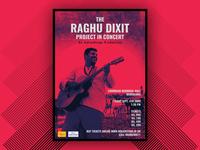 Raghu Dixit - Live In Concert - Poster Design