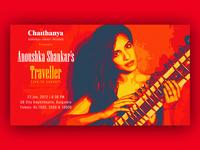 Anoushka Shankar's Traveller - Live In Concert - Poster Design