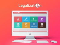 Dashboard Design for Legalization Product