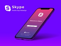 Skype Mobile App - Redesign