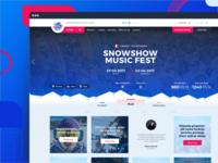 SnowShow web app