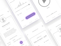 Voicer App Wireframes