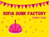 Happy Birthday to Us creative team happy birthday design clean flat simple branding illustration ui ux