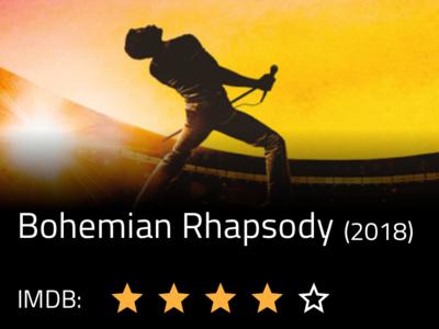 Movie Rhapsody codegen ui ux movie app music design indigo.design