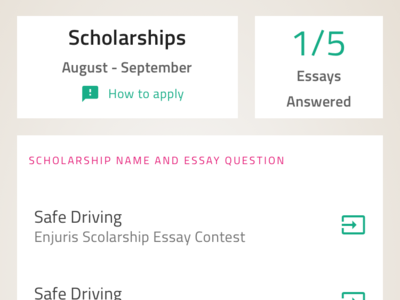 Scholarships scholarship education ui ux indigo.design design