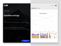 Personal Saving App codegen financial saving fintech ux ui angular app indigo.design infragistics