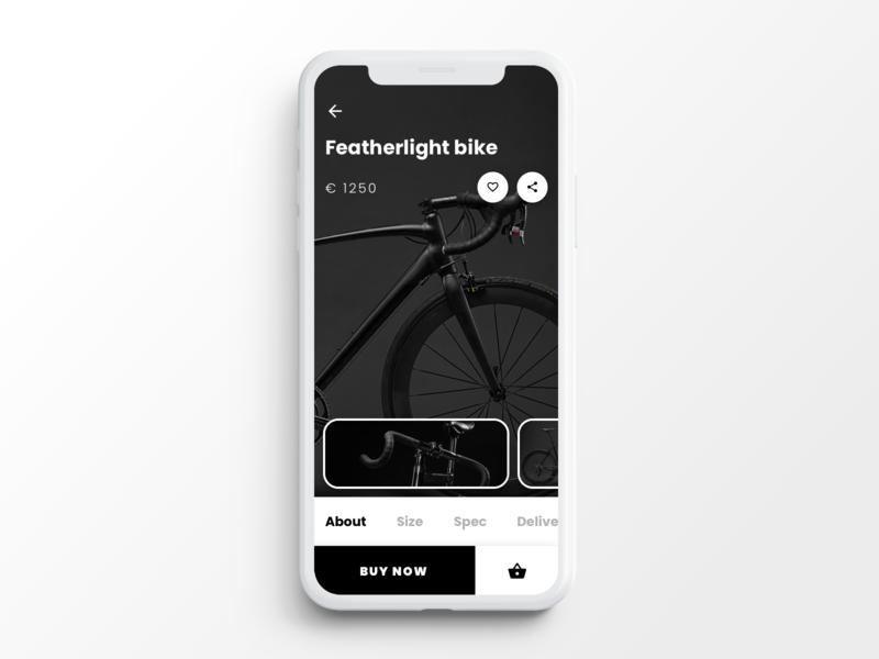 E-commerce app screen angular codegen sketch product infragistics indigo.design indigodesign ui  ux ux ui screen design ecommerce app screen