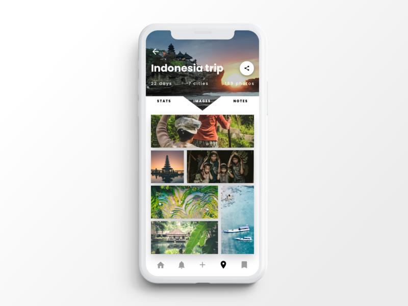 Travel App Screen travel travel app ui ui  ux ux infragistics indigo.design indigo product mobile angular design