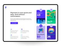 Fintech Landing Page