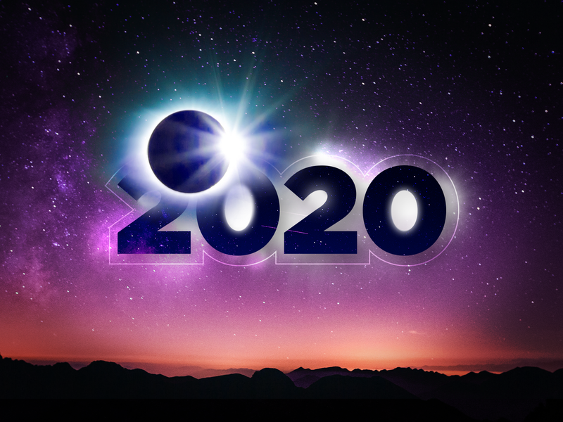 Have an amazing New 2020! creative web app ui ux angular indigo.design indigo infragistics new year