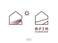 昂子工坊logo