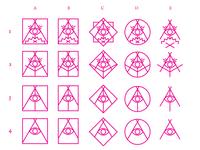 Campfire Conspiracy logo concepts