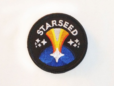 Starseed Patch consciousness awakening space new age extraterrestrial aliens starseed patch