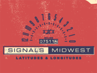 Alternate Color option for Signals Midwest Poster