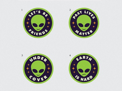 Alien Patch Concepts badge starseed extra terrestrials patch alien