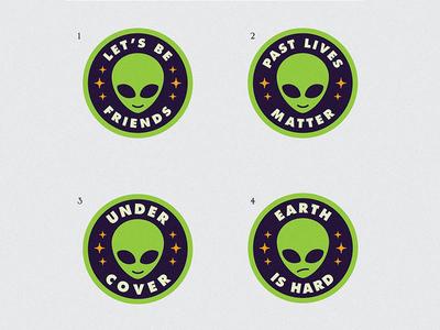Alien Patch Concepts