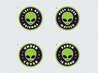 Alien Patch Concepts