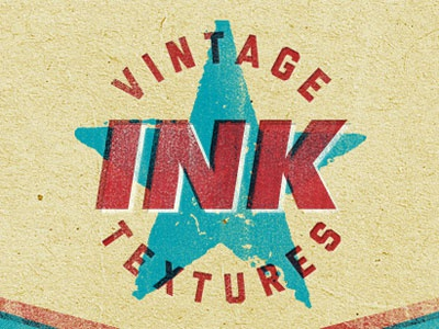 Letterpress Vintage Ink Texture Dribbble
