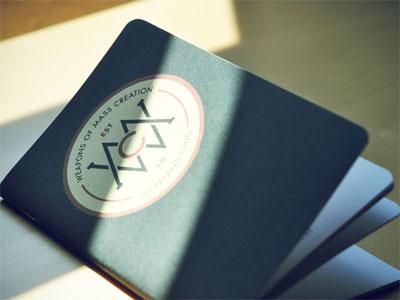 Weapons of Mass Creation Journal journal book wmc fest weapons of mass creation go media bound custom notebook