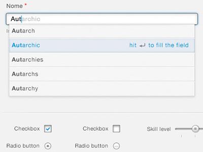 Curricoolum – Autocomplete web app form forms web ui user interface design ui design form validation autocomplete tooltip