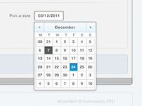 Curricoolum – Date picker