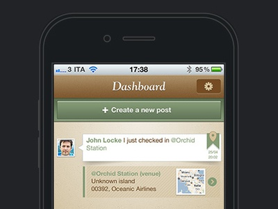 Save The Mom V1 – iPhone Dashboard iphone mobile ui mobile user interface user interface design ui design dashboard