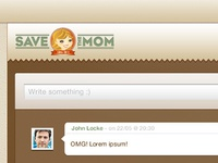 Save The Mom V1 – Web Dashboard