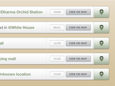 Save The Mom V1 – Web Check-In web app web ui user interface design ui design check-in geolocation
