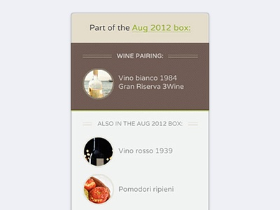 3Wine – Wine/food pairing card website web ui web interface e-commerce wine