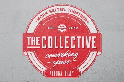 The Collective Logo vintage logo illustrator italy vintage logo logo design verona italian designers