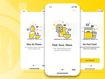 """""""Crave""""- Food Delivery App Walkthroughs"""