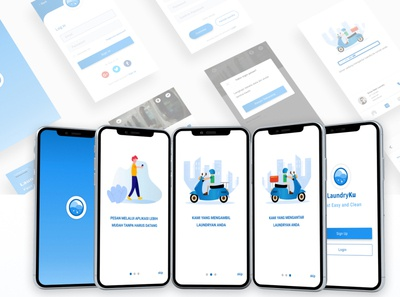 Mobile App LaundryKu
