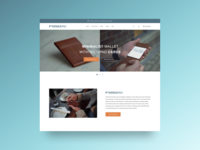 Landing Page Notepad and Pen Pockets