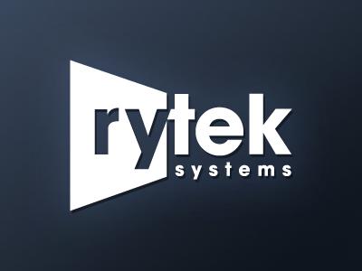 Rytek Logo logo blue home theater