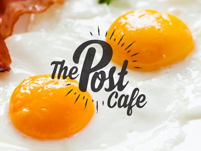 Breakfast Cafe Logo bacon eggs breakfast restaurant mark branding design logo