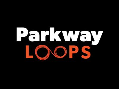 Parkway Loops Logo Design V2 preformed loops inductive loops traffic loops branding automotive parking logo design
