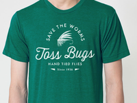 Fly Fishing Shirt - Save The Worms