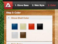 Glove Builder - Colors