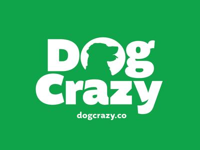 Dog Crazy Logo Progress logo design logo dog dogs