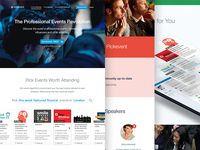 Professional Events Platform
