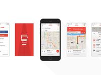 Public Transportation GPS Tracking iOS App
