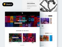 E-commerce UI - Download Sketch