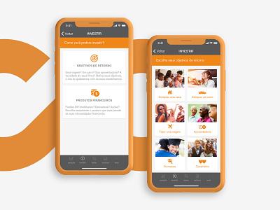 Rico App Redesign itau fintech investment web vector icon ux ui rico design app