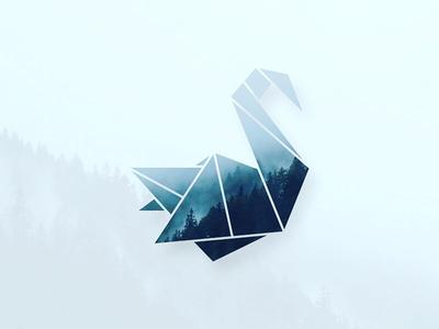 Origami Swan By Vijayakumar Ramalingam