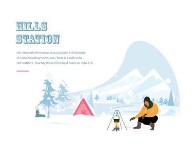 Hill station landing page