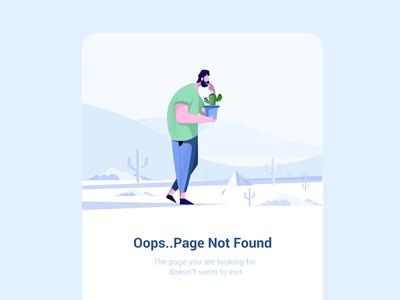 Eror page 404 page 404 error eror design vector graphic graphic deisgn designing sketching target dribbble character illustration