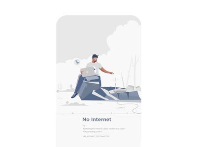 Internet Error not found no internet 404 eror graphic designing landscape vector dribbble character graphic deisgn illustration